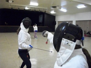 Photo Provided by the Wilson College Fencing Club