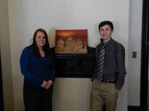Left: Kaitlyn Keefer and Michael Eaton Photo provided by